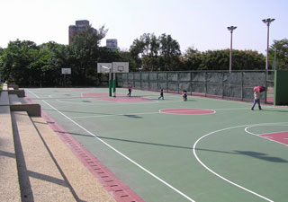 Tennis and Volley Ball Courts